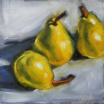 Pear Trio by Tracy Male