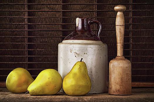 Pears and Jug by Vicki McLead