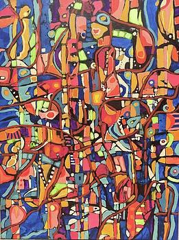 Pedazos # 6 by Jeffrey Davies