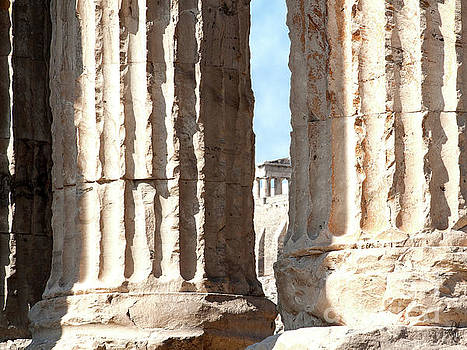 Peek a Boo in Athens by Victoria Harrington