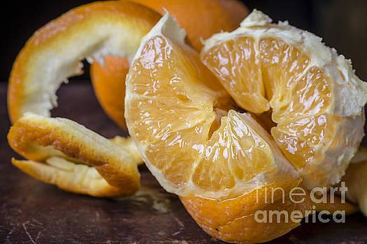 Edward Fielding - Peeled Orange Still Life