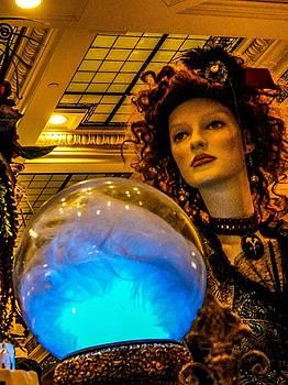 Peer Into The Crystal Ball by Rachel E Moniz