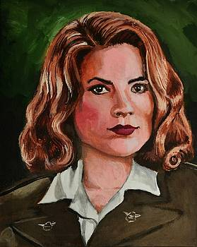 Peggy Carter by P Dwain Morris