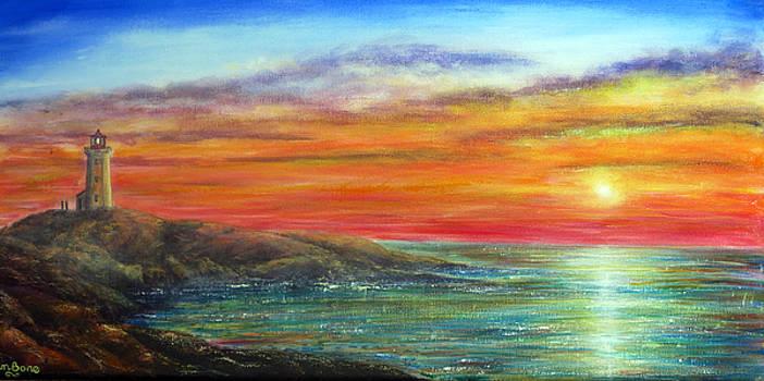 Peggy's Cove by Ann Marie Bone