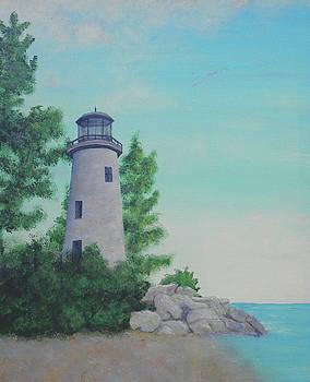 Pelee Island Lighthouse by James Violett II