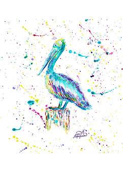 Pelican by Jan Marvin by Jan Marvin