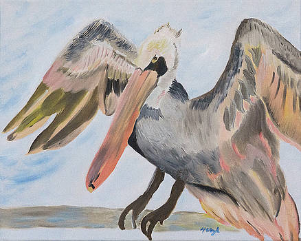 Pelican Glory by Meryl Goudey