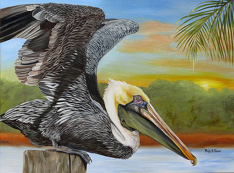 Pelican Paradise by Phyllis Beiser