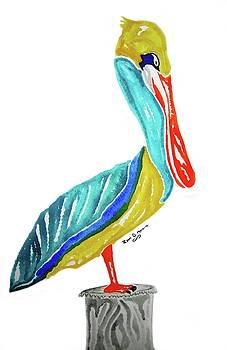 Pelican by Ryan D Merrill