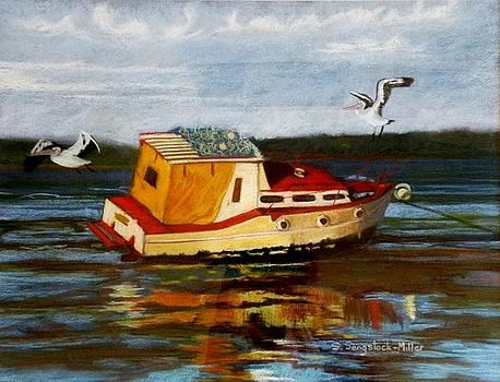 Pelican's Rest by Sandra Sengstock-Miller