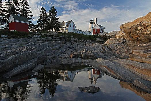 Pemaquid Point Light Maine by Juergen Roth