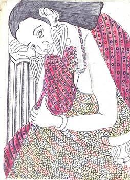 Pencil Drawing by Ngwanyam Loraterr