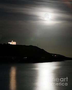 Pendennis Castle at Night by Terri Waters