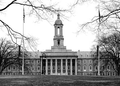 Penn State Old Main by Mary Beth Landis