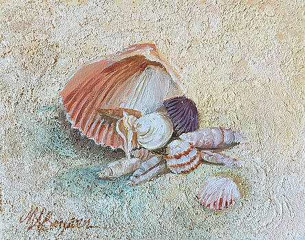 Pensacola Sand and Shells by Maryann Boysen