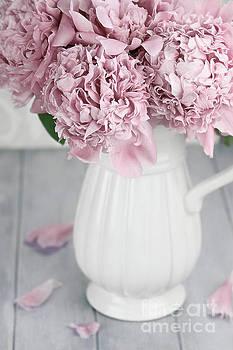 Peonies in a Vase by Stephanie Frey