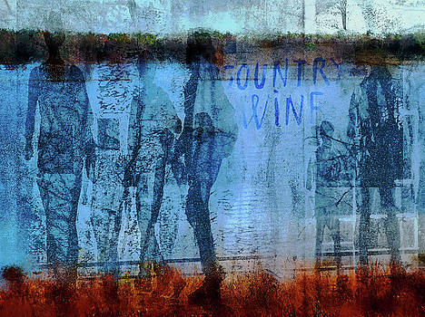 People and country wine by Gabi Hampe