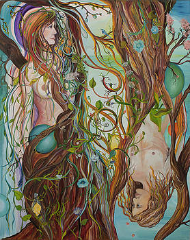 People of Trees by Alexandra  Kube