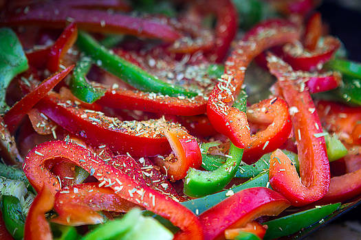 Peppers on the Grilll by Toni Thomas