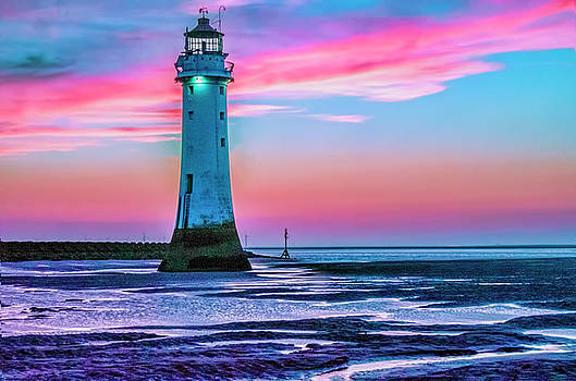 Perch Rock Sunset by Brian Tarr