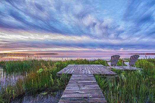 Perfect Morning on the Peninsula by Sheen Watkins