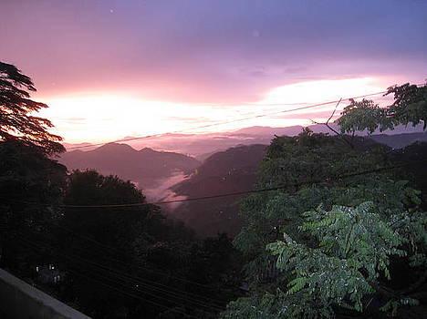 Perfect  Sunset by Saman Khan