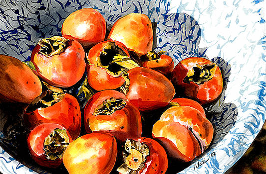 Persimmons by Nadi Spencer
