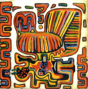 Peruvian Cuna Bird Design by Dy Witt