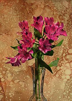 Peruvian Lilies Bouquet by Sandi OReilly