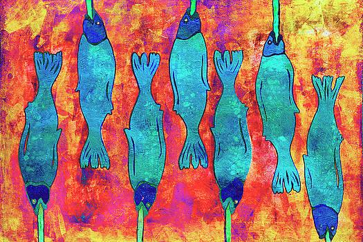 Pescado en un palo by Sandra Selle Rodriguez
