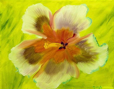 Petaling Softly by Meryl Goudey