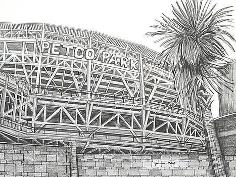 Petco Park by Juliana Dube