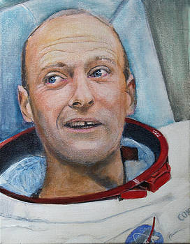 Pete Conrad- Spacefest Series by Simon Kregar