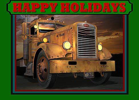 Pete Ol' Yeller Happy Holidays by Stuart Swartz