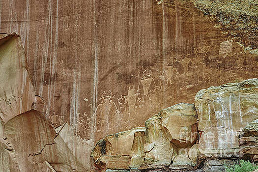 Patricia Hofmeester - Petroglyphs