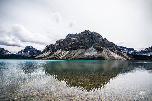 Peyto Lake Alberta by Adnan Bhatti