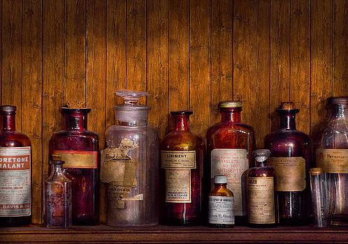 Mike Savad - Pharmacy - Liniment Lozenges and Antiseptic