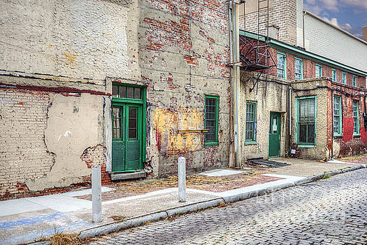 David Zanzinger - Philadelphia Aley Cobblestone Street