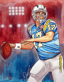 Philip Rivers by Dave Olsen