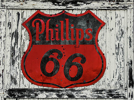 Phillips 66 Sign by Tammy Chesney
