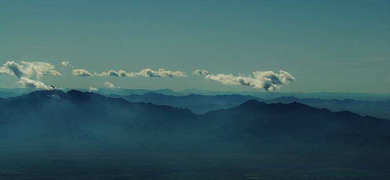Phoenix Mountains by Larry Campbell
