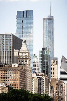 Paul Velgos - Photo of Chicago Buildings Along Michigan Avenue