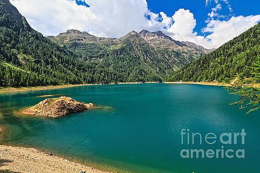 Pian Palu lake - Trentino by Antonio Scarpi