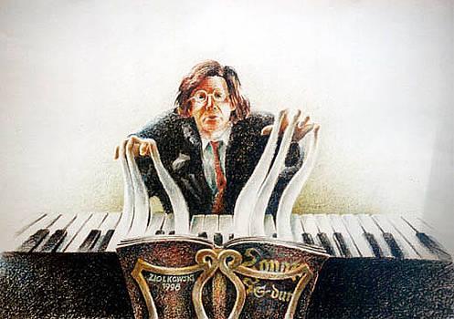 Pianist by Gregor Ziolkowski