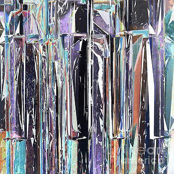 Piano Keys Abstract by Phil Perkins