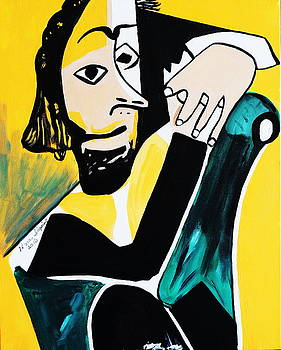 Picasso By Nora  Hands by Nora Shepley