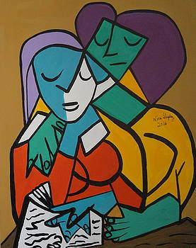 Passion  Picasso By Nora by Nora Shepley