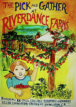 Pick and Gather at Riverdance Farms by James  Christiansen