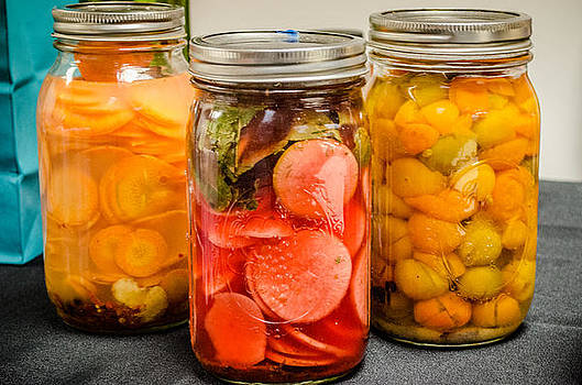 Pickled Veggies by Sharon Wunder Photography