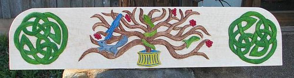 Pictish tree of life by Christina White